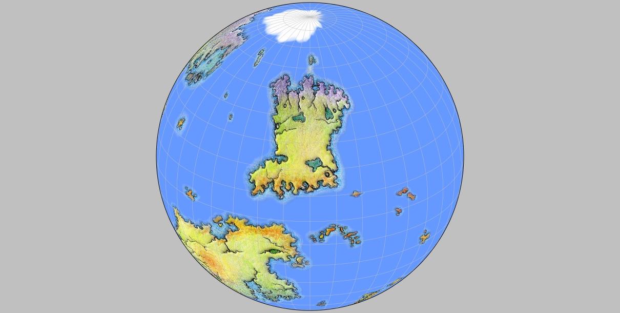 Equator Map World