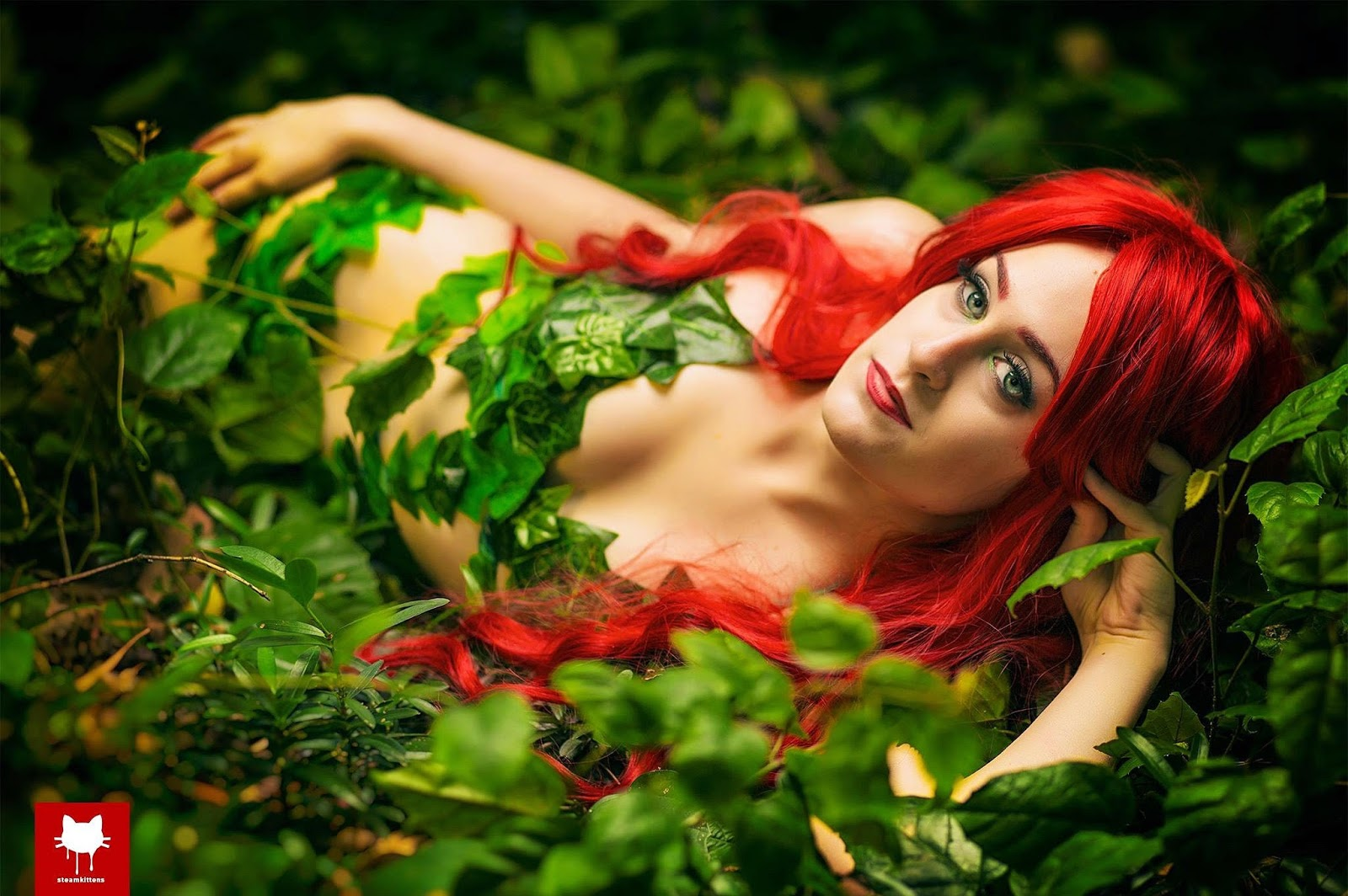 Poison ivy photo shoot