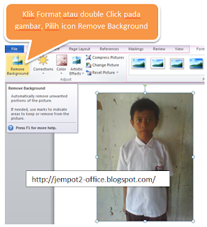 Pasphoto modification in Microsoft Word