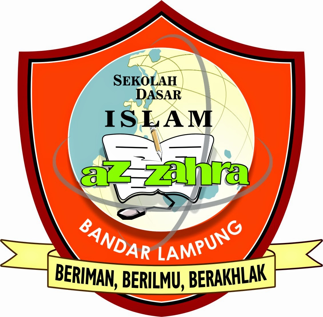 Logo SD Islam Az Zahra Bandar Lampung