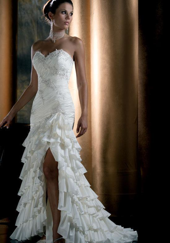 all about the wedding celebration bridal gown
