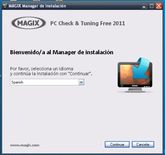Magix PC Check & Tuning Free 2011 Descargar