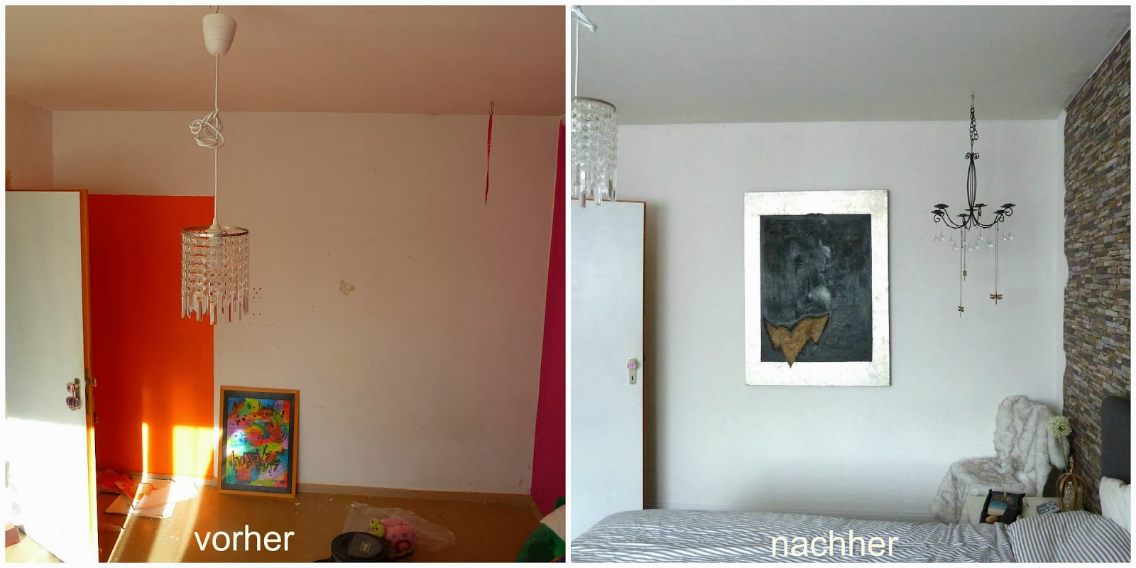 bittyambam neues schlafzimmer vorher nachher. Black Bedroom Furniture Sets. Home Design Ideas