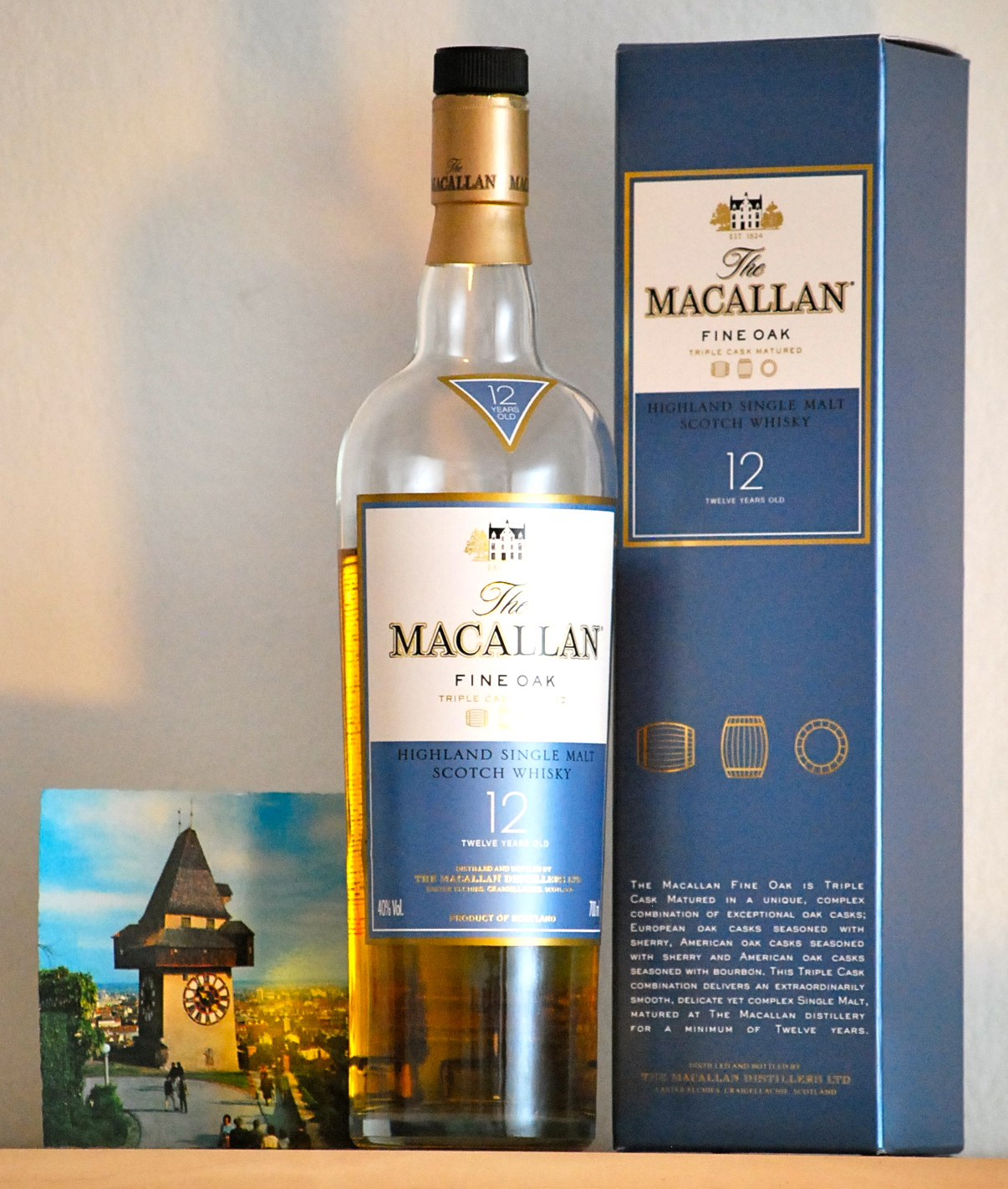 The macallan fine oak - 12 yıllık