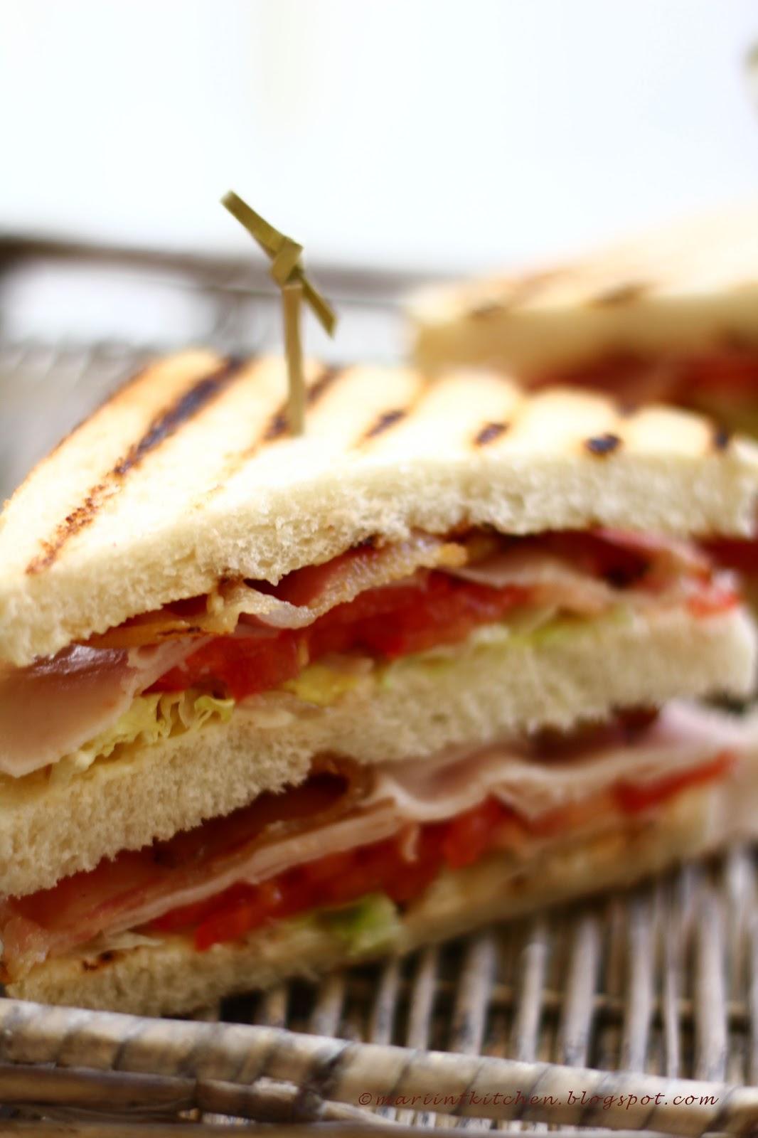 club sandwich, ovvero il re dei panini....