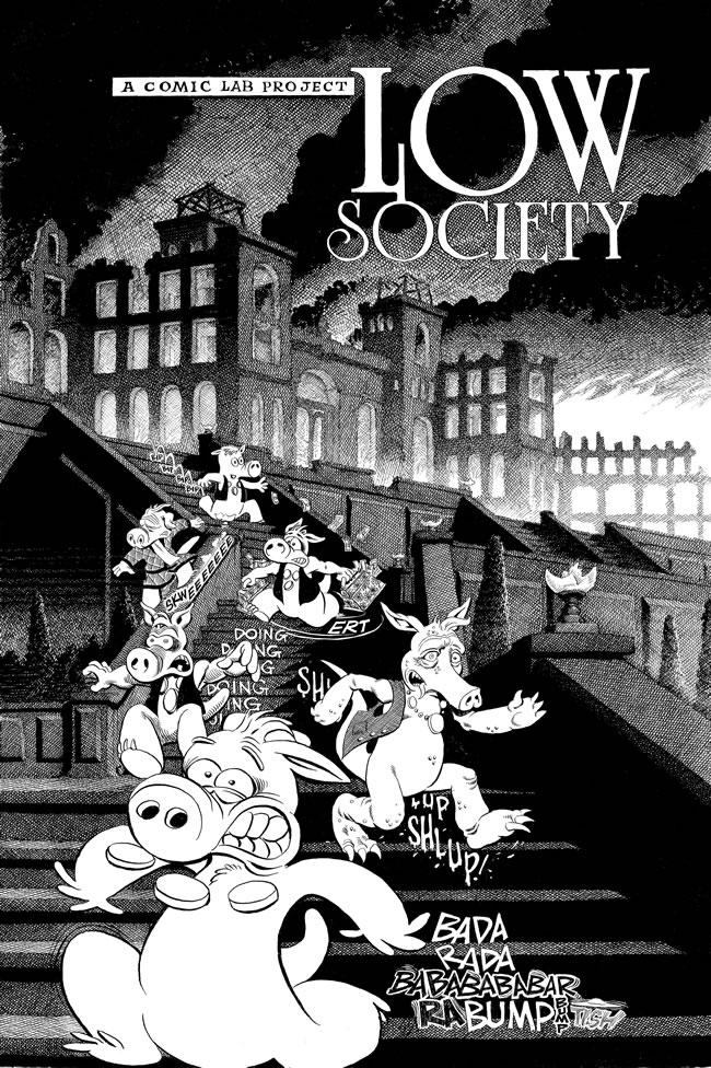 Les comics que vous lisez en ce moment - Page 2 Low_society_bw