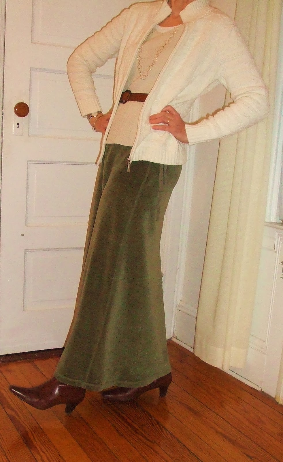 long skirt for women over 50