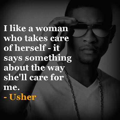 Usher inspirational quotes