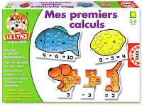 Mes premiers calculs Petit Lynx éducatif Educa