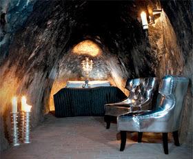 caveroom02 Hotel yang Terletak 155 meter di bawah Permukaan Bumi