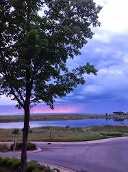 Lake Michigan in June