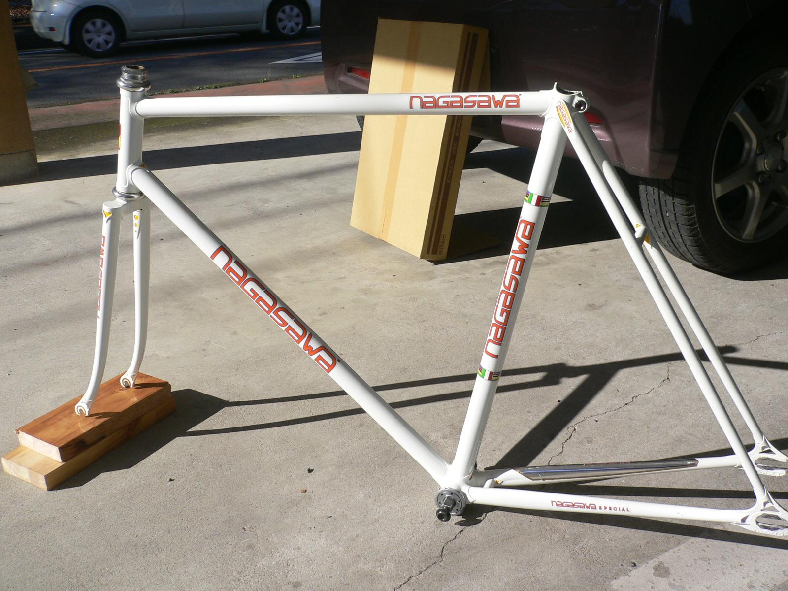 njs keirin track bike &frame for sell