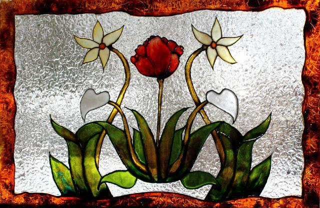 Top patron faux vitrail wallpapers for Faux vitrail sur miroir