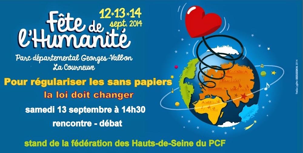 La fête de l'Humanité, trois jours de débats, de concerts, d'évènements...