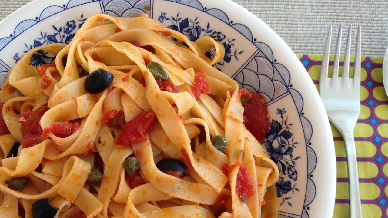 Fettuccine alla Puttanesca