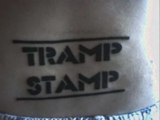 These Nice Tramp Stamp Tattoos