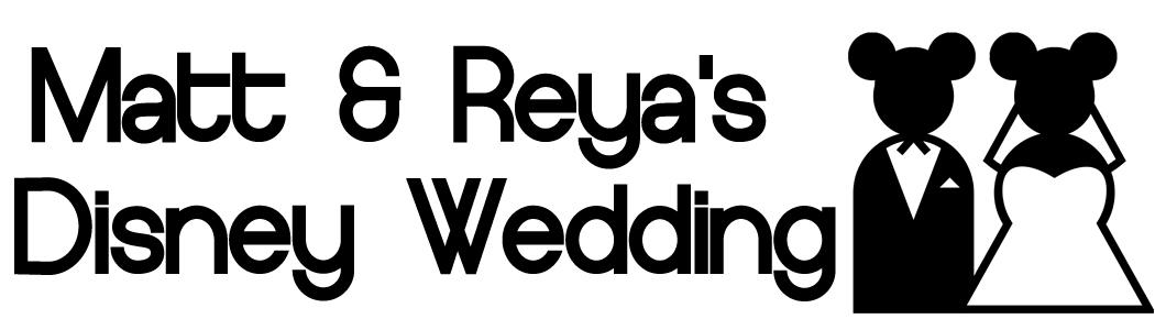 Matt & Reya's Disney Wedding