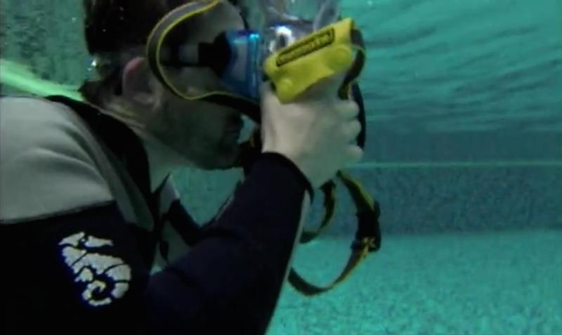 Artur Nyk fotografia podwodna kadr z programu Pierwszy Plan