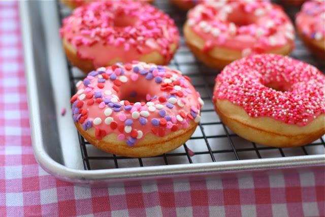 Baked Vanilla Donuts