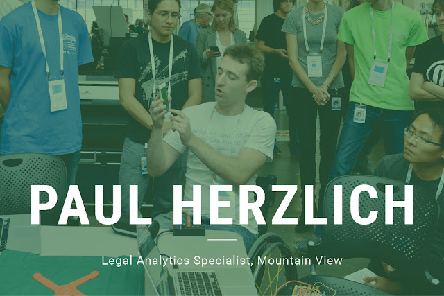 Paul Herzlich, Legal Analytics Specialist, Mountain View