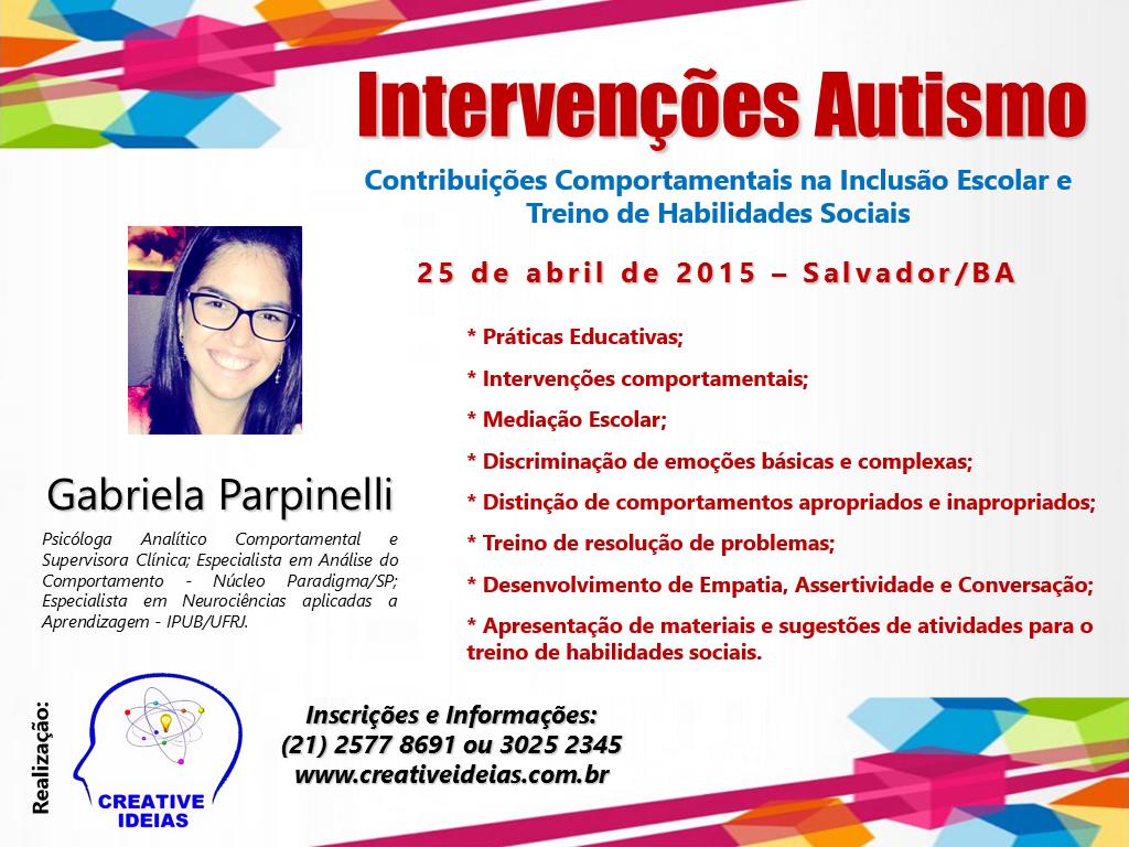 Intervenções Autismo - Salvador