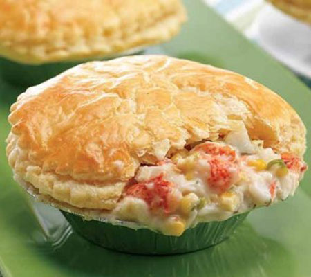 Lobster Pot Pie Recipes