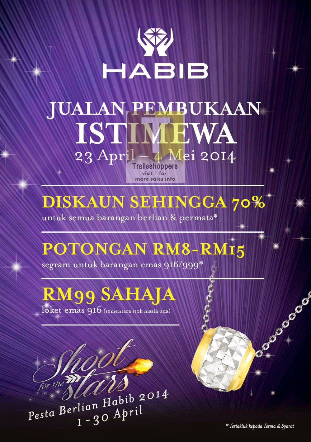 HABIB Alamanda Putrajaya Special Opening Sale