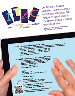 ITEC iPad workshop ad