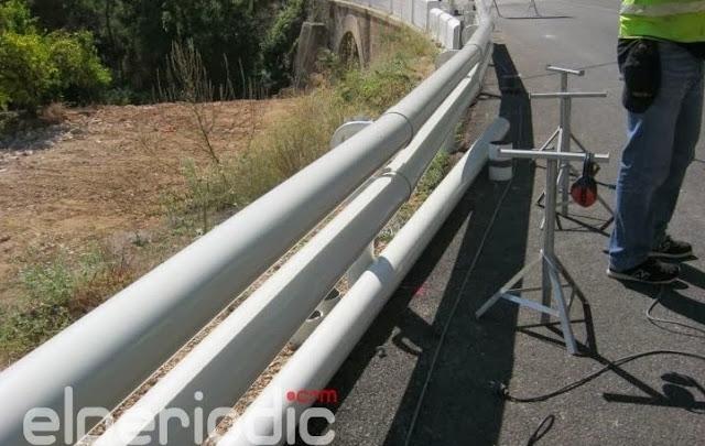 Proceso de montaje de la barrera con SPM