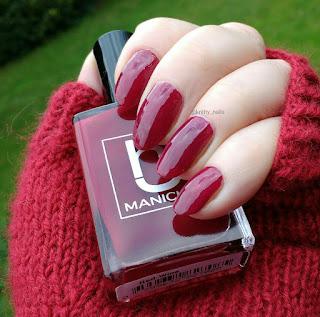 HJ Manicure Red Wine
