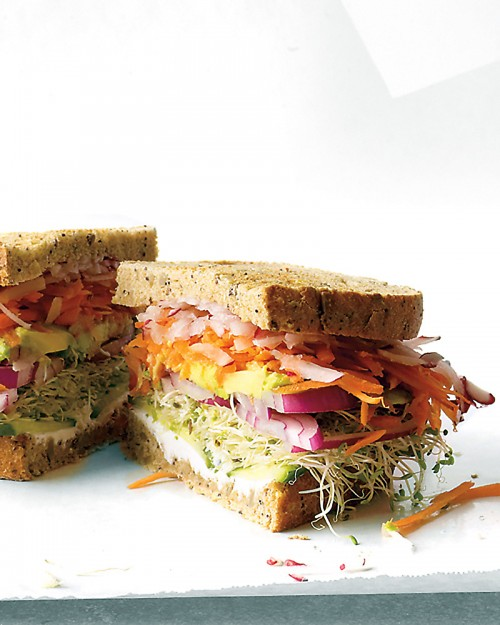 California Veggie Sandwich - Cook'n is Fun - Food Recipes, Dessert ...