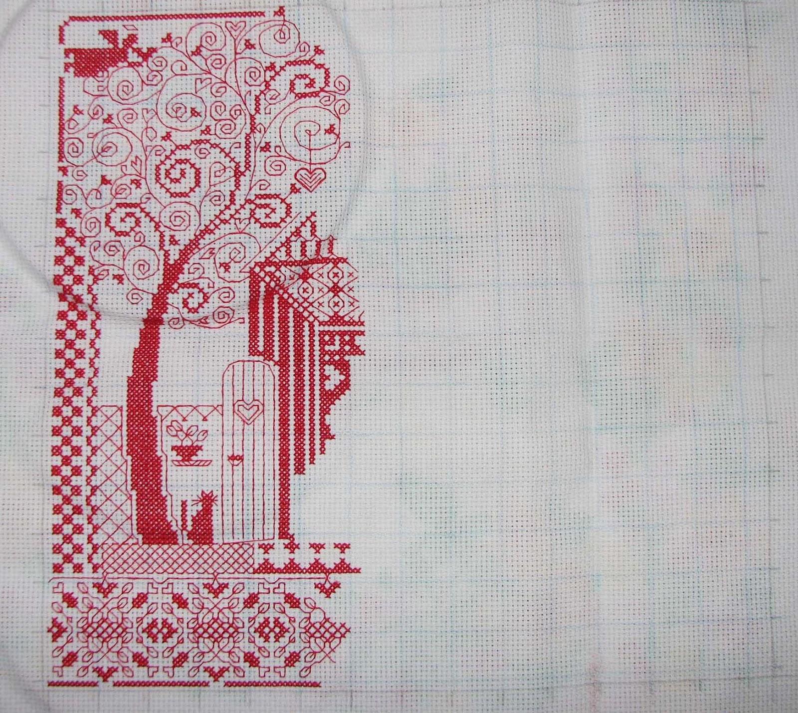 Вышивка схема вышивки домашнего оберега 884
