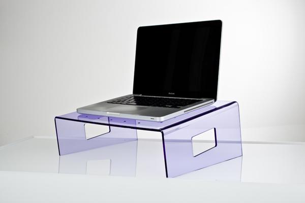 Esclusivo in plexiglass - Porta pc da letto ...