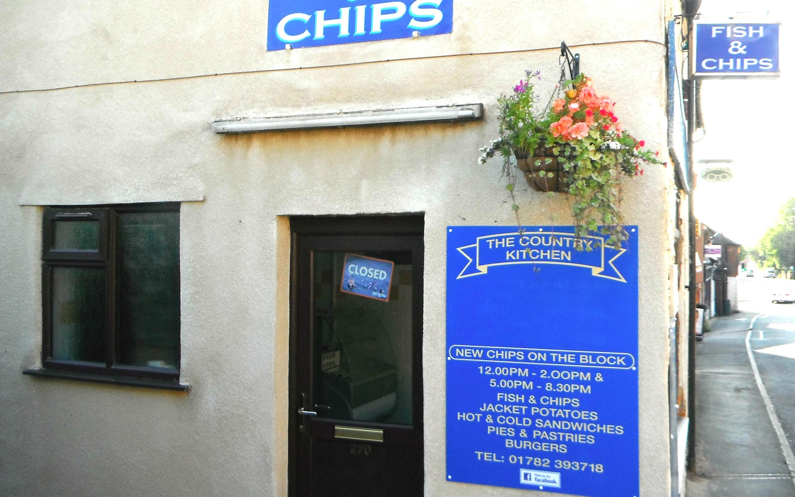 'New Chips On The Block' fish & chip shop