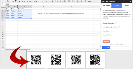 2 Useful Tools to Generate QR Codes from Google Sheets