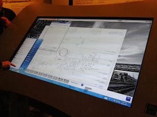 Även flödesschema och allt annat man kan visa på en windowsdator går att använda.
