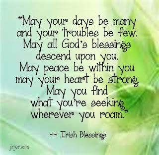 Irish Birthday Blessing