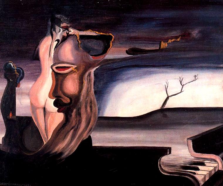 Resultado de imagen para mujer pianista pintura