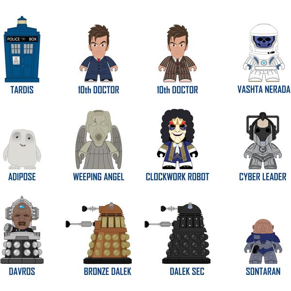 Doctor Who Mini Vinyl Figures The Tenth Doctor