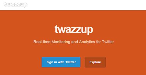 Ferramentas De Monitoramento De Redes Sociais - Twazzup