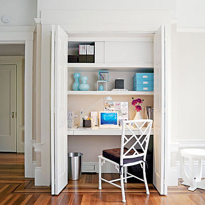 to rags by dori turn a closet into your very own office space