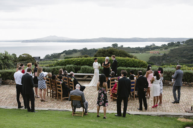 DIY meets art deco wedding in New Zealand