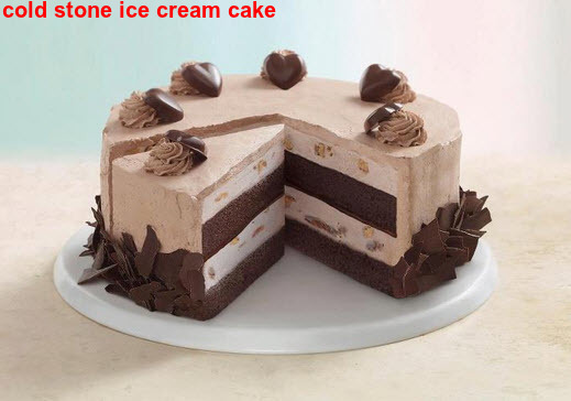 Cold Stone Ice Cream Cake 2015 - The Best Party Cake