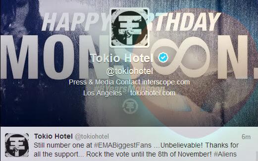 [31.10.2013]  \\ @ facebook | twitter Tokio Hotel (28.10.2013) Fds