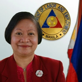 Rosalinda Baldoz DOLE Sec lauds OWWA scholar who tops CPA board