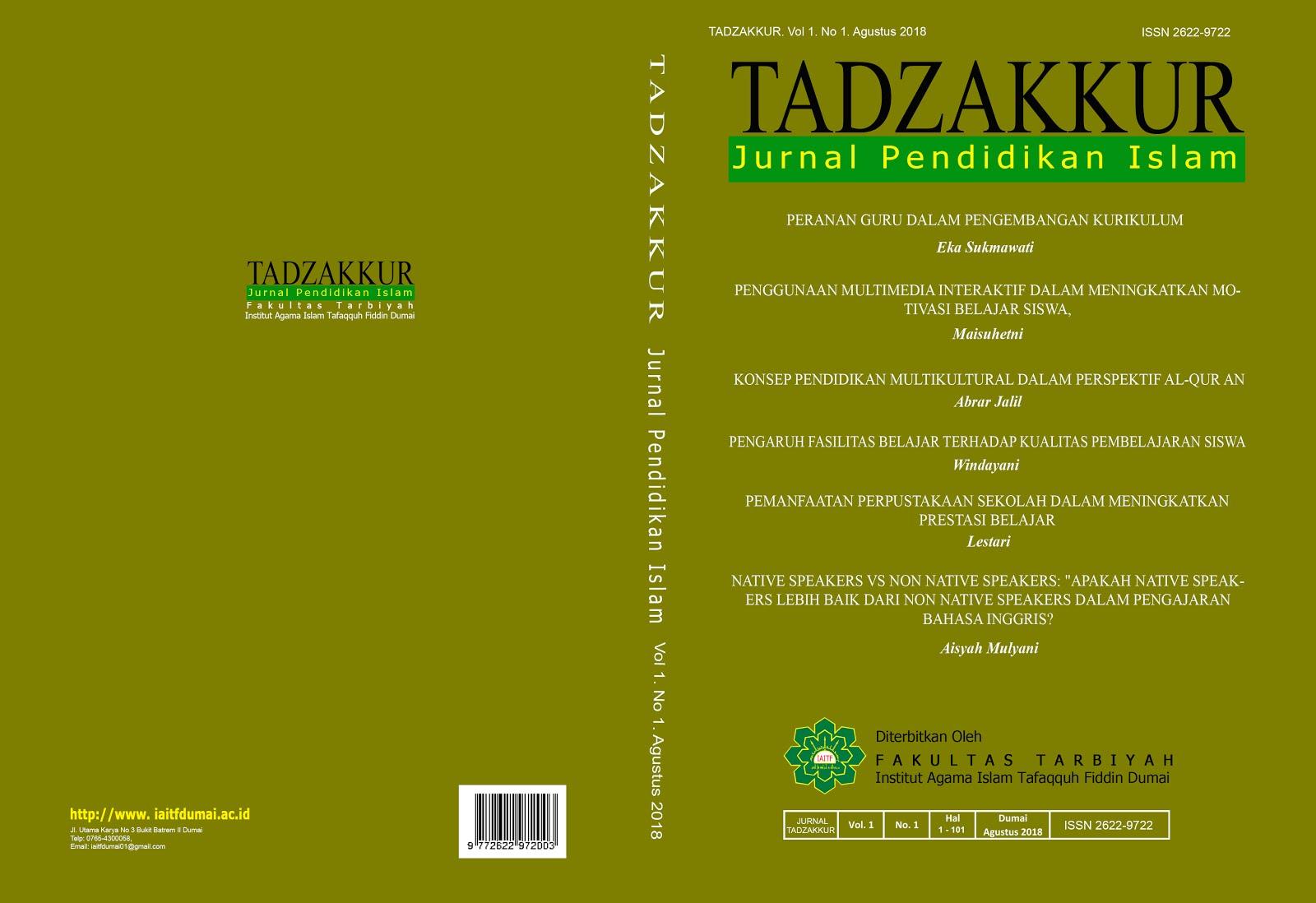 Jurnal Tadzakkur