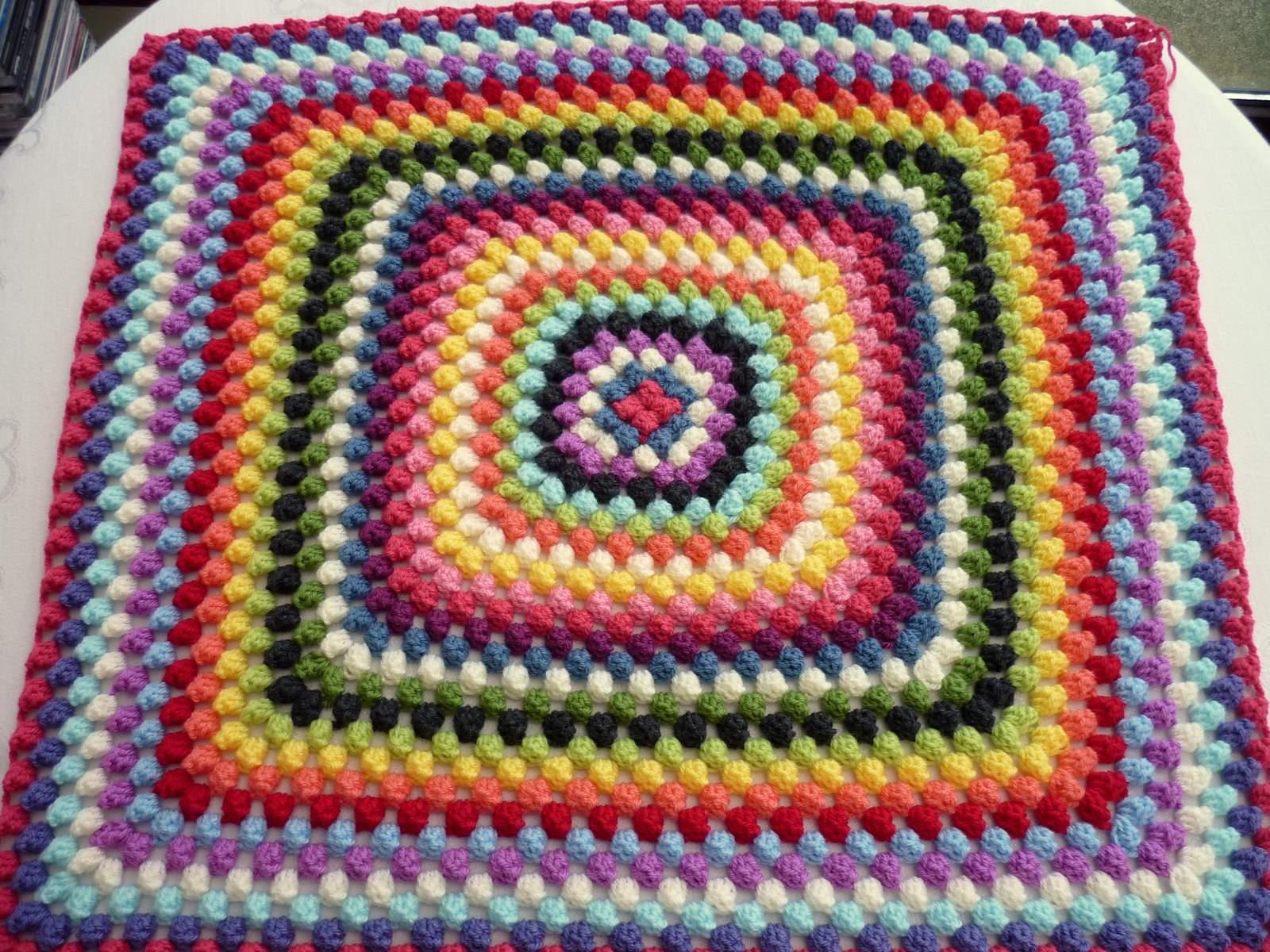 Colour in a simple life granny bobble stripe granny bobble stripe bankloansurffo Choice Image