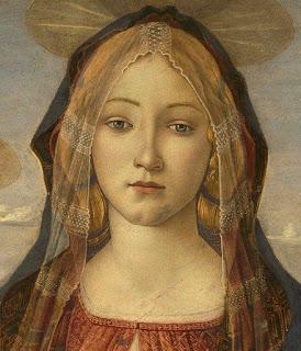virgin Mary Botticelli