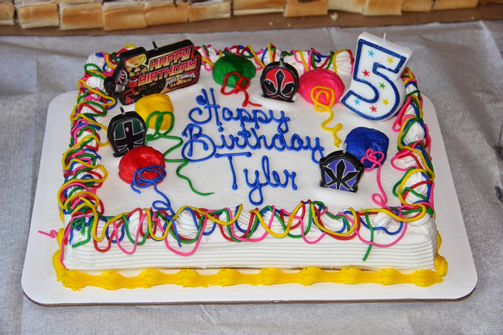 Francis Family Fun Tylers 5th Birthday