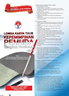 Lomba Karya Tulis Kepemimpinan Pemuda 2011 dunialombaku.blogspot.com
